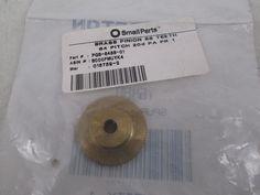 """Brass Pinion Gear 64P 20 Deg Pressure Angle 88Teeth x .250"""" Bore, PGB-6488-01"""