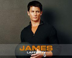 My husband....James Lafferty
