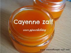Cayenne zalf is een verwarmende zalf die verlichting geeft bij spier- en gewrichtspijn. Healing Herbs, Natural Healing, Diy Scrub, Beauty Recipe, Massage, Natural Medicine, Healthy Tips, Diy Beauty, Health And Beauty