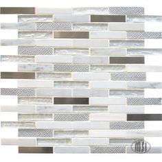 Ocean Crest Brick 5/8 x 3 Mosaic