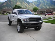 "lifted dodge dakota truck | 2001 Dodge Dakota Regular Cab & Chassis ""Micro Machine"" - salem, UT ..."
