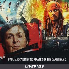 Estrelado por #johnnydepp #PiratesoftheCaribbean 5: Dead Men Tell No Tales, título em inglês, #JackSparrow se depara com um grupo de piratas perigosos liderados por um antigo inimigo, o Capitão Salazar (#javierbardem). Eles estão determinados a matar todos os outros piratas do oceano. O longa está previsto para julho de 2017.  #livepass #paul #paulmccartney #piratasdocaribe #instagood #follow #like #picoftheday #instadaily #bestoftheday #instalike #friends #amazing #tweegram #instago