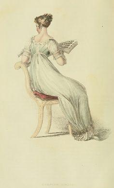EKDuncan - My Fanciful Muse: Regency Era Fashions - Ackermann's Repository 1813