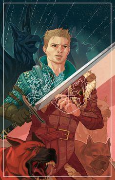 viviegg,Алистер,DA персонажи,Dragon Age,фэндомы,DA таро