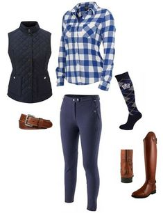 equitation look texas