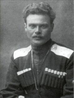 Russian Civil War. White Army. General Shkuro.