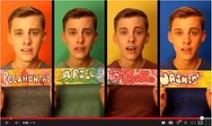 Jon Cozart Disney princesses parody...this guy is hilarious and super talented!!