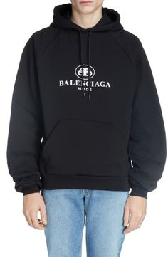 Looking for Balenciaga BB Mode Hooded Sweatshirt ? Check out our picks for the Balenciaga BB Mode Hooded Sweatshirt from the popular stores - all in one. Sweatshirts Online, Hooded Sweatshirts, Hoodies, New Balenciaga, Linen Blazer, Mens Clothing Styles, Sports Shirts, Simple Outfits, Nordstrom