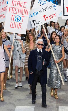 Chanel - PFW Spring/Summer 2015 - www.so-sophisticated.com