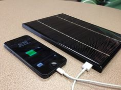 Magma's integrated design of a high-efficiency solar cell, Li-Ion battery, intelligent electronics, and USB charging port allows for a very portable product you can carry anywhere.  Magma: The Smartest, Most Innovative Mobile Power Source by Duniah: Shahnoor, Muaz, Maruthi, via Kickstarter.