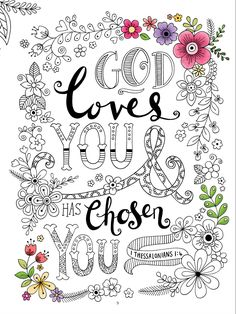 Gratitude gives you a way to celebrate and give thanks to God for the many blessings he provides. This printable is from Gratitude: A Prayer and Praise Coloring Journal from the Living Expressions Collection Bible Coloring Pages, Adult Coloring Pages, Coloring Books, New Bible, Bible Art, Sunday School Coloring Pages, Scripture Doodle, Girls Bible, Christian Crafts