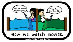 Long Distance Relationship. this is actually how we do it! mostly with youtube videos but still!!!!!