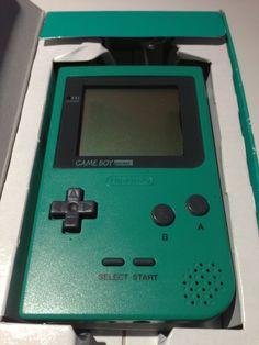 Console GameBoy Pocket Vert - Green (1996)