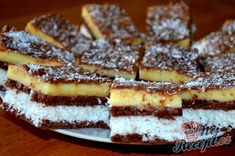 Sweets Cake, Christmas Sweets, Graham Crackers, Pasta Dishes, Coco, Sweet Recipes, Waffles, French Toast, Cheesecake