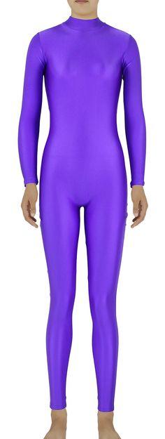 AmazonSmile: AveryDance Lycra Spandex Adult Unitard Bodysuit Dancewear Catsuit: Clothing