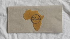 Africa Clutch 10'' by 5'' silky interior with by PreciousGoons, $15.00