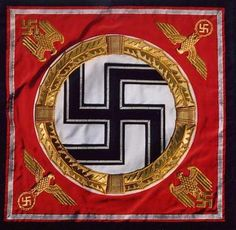 This is a picture of the Nazi Flag since the Book Thief took place during World War II in Nazi Germany