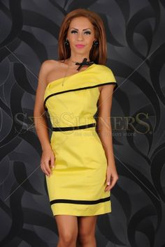 Rochie Fofy Summer Time Yellow