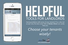 We can help you find the best tenants with our tenant screening products