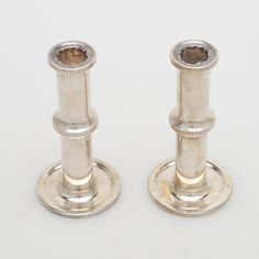 Bilder för 432678. SIGVARD BERNADOTTE. Ljusstakar, ett par, nysilver, alpacka. – Auctionet