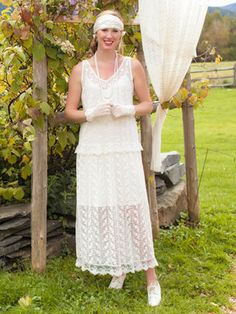 Nanette Ladies Dress | April's Attic Sale, Ladies Attic:Beautiful Designs by April Cornell