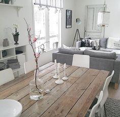 Moderner Landhaussstil Kommode Als Raumteiler Zwischen Wohn Und
