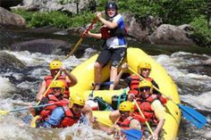 Experience whitewater rafting in the Adirondacks for an adrenaline rush like no other!