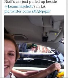 I would be in that car with him not in your car duhh