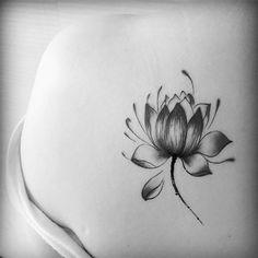 Tattoo Sticker waterproof Lotus flower Temporary Body Art Waterproof