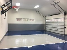 Millz House offers our customers a perfect floor coating solution for their indoor game court!
