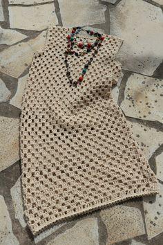 Sidney Artesanato: vestidos de crochet