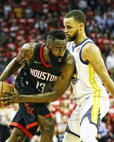 James Harden and Steph Curry Nba Players, Basketball Players, Sports Teams, Curry Basketball, Gastro Pubs, Head S, James Harden, Houston Rockets, Stephen Curry