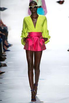 journaldelamode:    New York Fashion Week SS 2013, Diane Von Furstenberg show, Ataui Deng