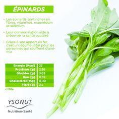 Pour une #alimentation saine et équilibrée, n'oubliez pas d'inclure des #épinards dans votre assiette; un légume qui regorge de #bienfaits.