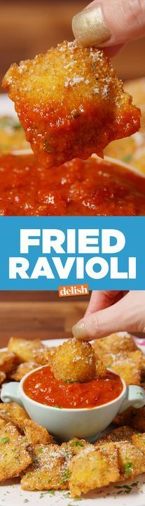 Our Fried Ravioli slays everything on the Olive Garden menu. Get the recipe from Delish.com.