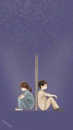 wait for your loved ones Cute Couple Drawings, Cute Couple Art, Anime Love Couple, Couple Cartoon, Cute Anime Couples, Cartoon Wallpaper, K Wallpaper, Dots Kdrama, Descendants Of The Sun Wallpaper