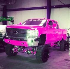 Ford F-350 Pink ☆ Girly Cars for Female Drivers! Love Pink Cars ♥ It's the dream car for every girl ALL THINGS PINK!