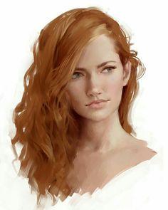 Human Female - Pathfinder PFRPG DND D&D d20 fantasy