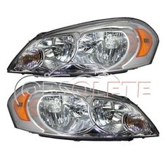 New Headlight HeadlampChevy Impala 06-13  Assembly Left Right  LH RH Pair #AfterMarketReplacement
