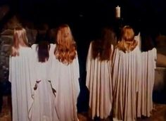 Sister coven. Sorcery at night. Witches in film.