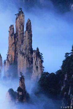 安徽 黃山 西海大峽谷 (by たつ) Huangshan Mountain, Anhui, China...most amazing place i have ever seen