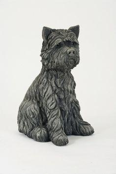 Oswaldtwistle Mills   Oakley Stone Animals - Upright Terrier