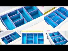 Fabulous DIY Makeup Drawer Organizer To Keep Off Clutter Forever Ikea Makeup Storage, Makeup Storage Drawers, Diy Drawers, Closet Drawers, Storage Hooks, Box Storage, Smart Storage, Jewelry Storage, Diy Makeup Organizer