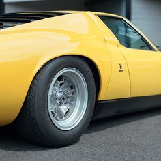 Miura.- when the Italians were faultless in design. All V12 Lambos since need to bow down to the Queen bee. You exist (existed) because of this car...the first Supercar, the progenitor of all V12 Lambos.
