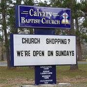 Church Signs Sayings -