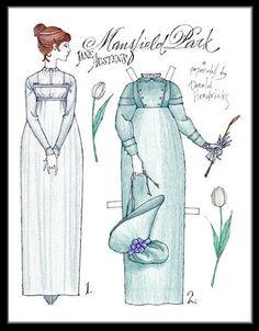 Fanny Price - Mansfield Park - By Donald Hendricks