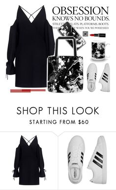 """Sauls Creative Eclectic"" by merima-kopic on Polyvore featuring IRO, adidas and Smashbox"