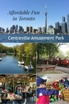 Things to Do with Kids in Toronto - Centreville Amusement Park Centre Island Review
