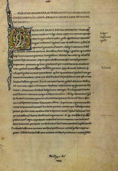 Opera Antiqua: C. IVLI CAESARIS COMMENTARII DE BELLO GALLICO LIBER PRIMVS - Caesar's Commentaries On The Gallic War Book I