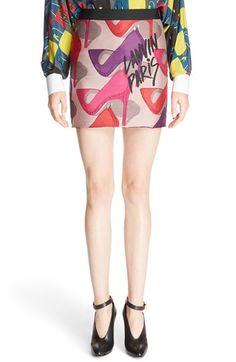 LANVIN Stiletto Jacquard Skirt. #lanvin #cloth #